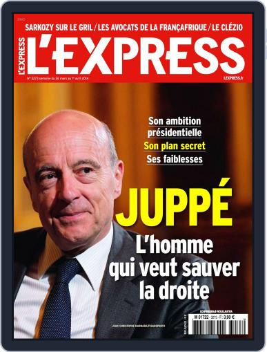 L'express (Digital) March 25th, 2014 Issue Cover