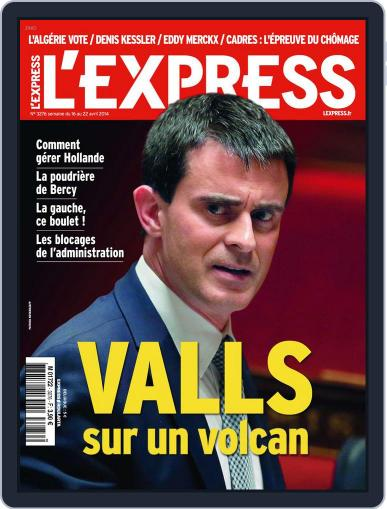 L'express (Digital) April 15th, 2014 Issue Cover