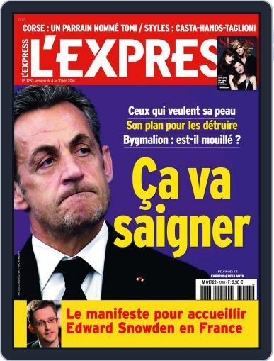 L'express June 3rd, 2014 Digital Back Issue Cover