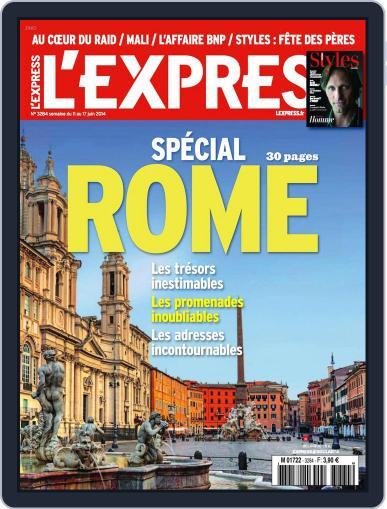 L'express (Digital) June 10th, 2014 Issue Cover