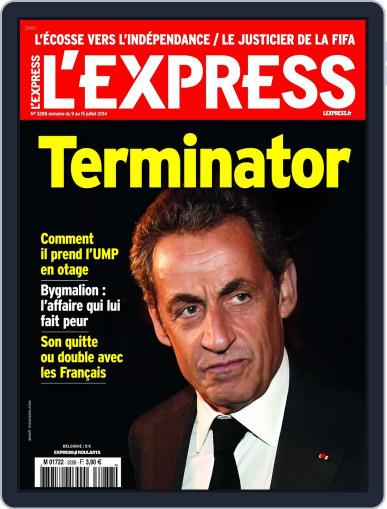 L'express (Digital) July 8th, 2014 Issue Cover