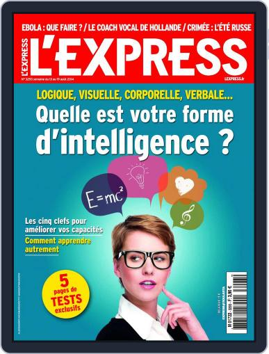L'express (Digital) August 12th, 2014 Issue Cover
