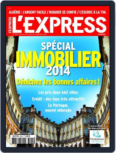 L'express (Digital) August 26th, 2014 Issue Cover