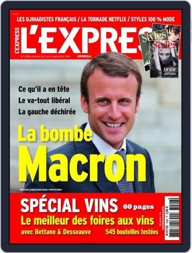 L'express September 2nd, 2014 Digital Back Issue Cover