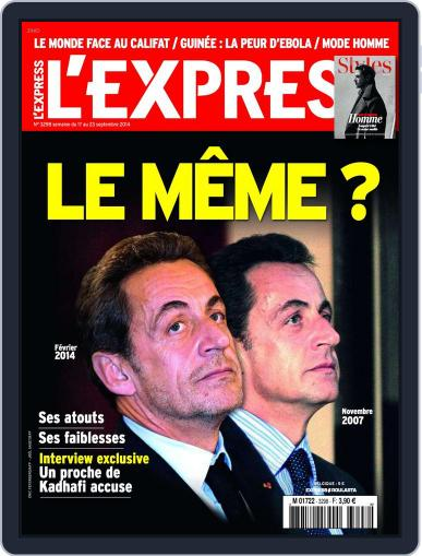 L'express (Digital) September 16th, 2014 Issue Cover