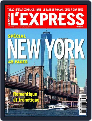 L'express (Digital) October 14th, 2014 Issue Cover