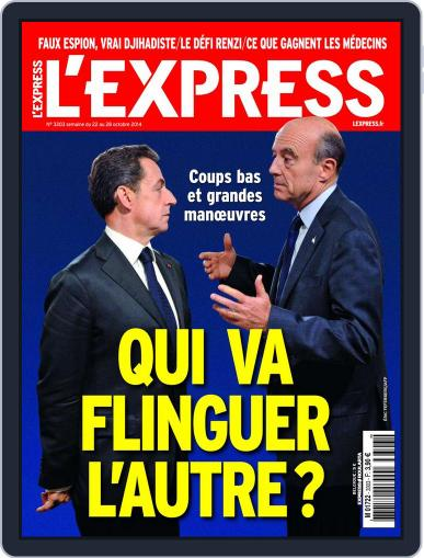 L'express (Digital) October 21st, 2014 Issue Cover