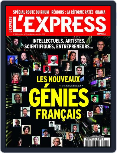 L'express (Digital) October 28th, 2014 Issue Cover