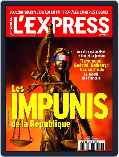 L'express (Digital) November 18th, 2014 Issue Cover
