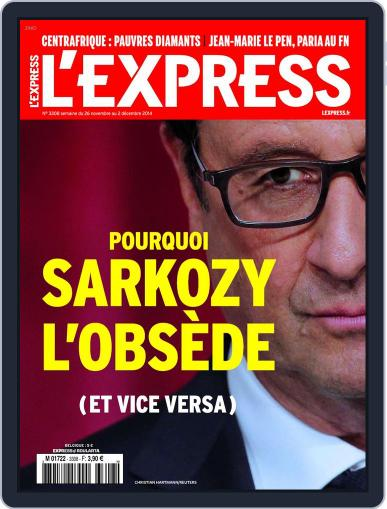 L'express (Digital) November 25th, 2014 Issue Cover