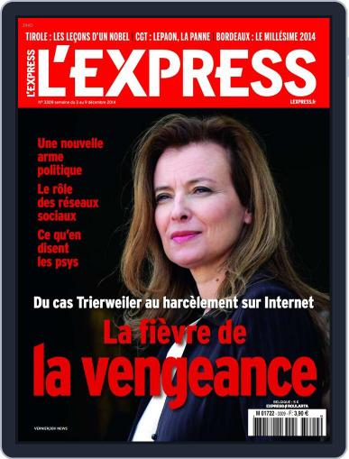 L'express (Digital) December 2nd, 2014 Issue Cover