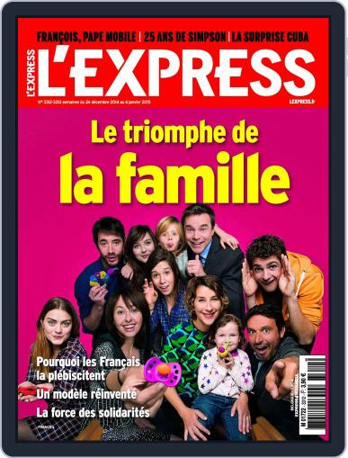 L'express December 23rd, 2014 Digital Back Issue Cover