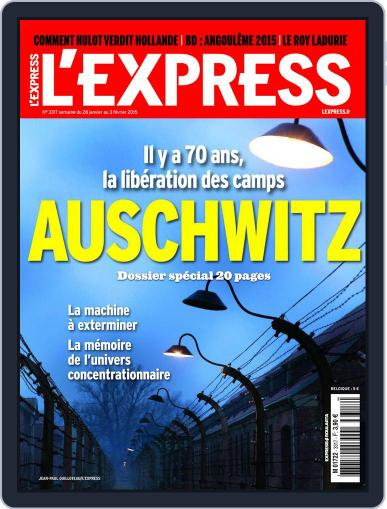 L'express (Digital) January 1st, 2015 Issue Cover