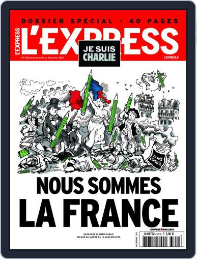 L'express January 13th, 2015 Digital Back Issue Cover
