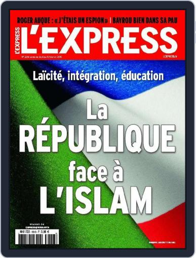 L'express February 3rd, 2015 Digital Back Issue Cover