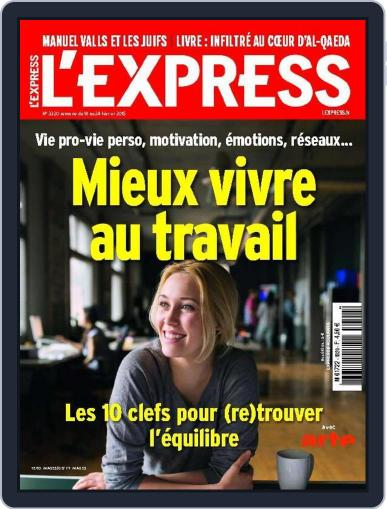 L'express (Digital) February 17th, 2015 Issue Cover