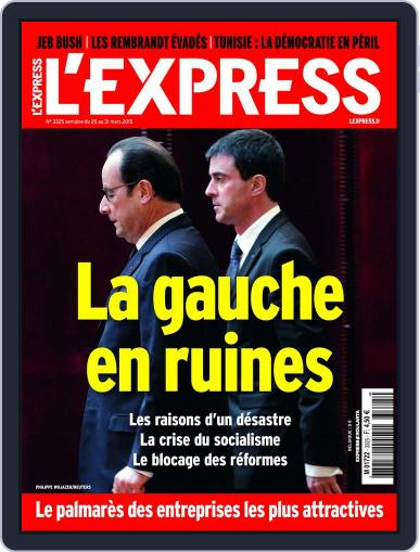 L'express (Digital) March 1st, 2015 Issue Cover