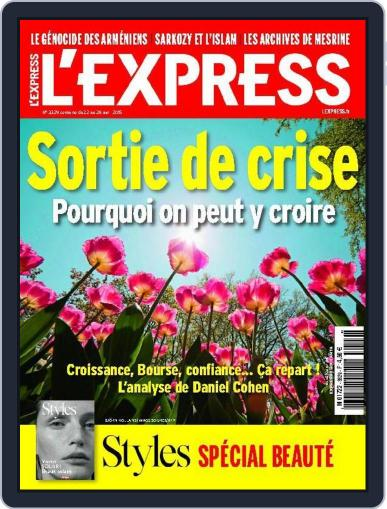 L'express (Digital) April 21st, 2015 Issue Cover