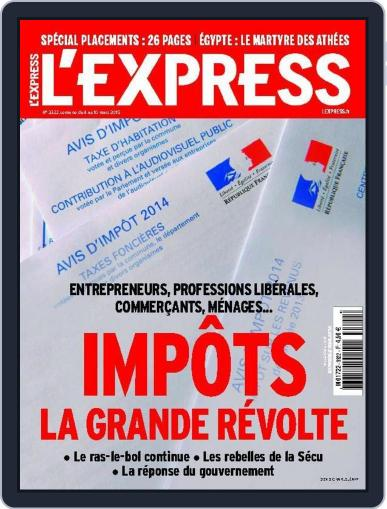 L'express May 11th, 2015 Digital Back Issue Cover