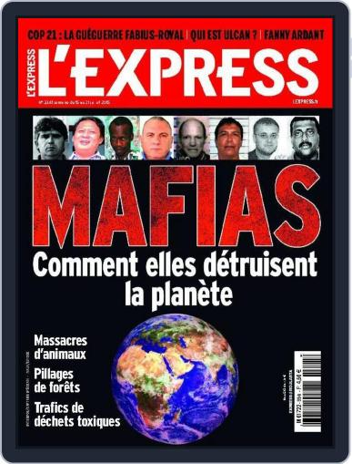 L'express July 12th, 2015 Digital Back Issue Cover