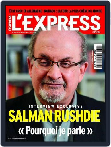 L'express (Digital) July 20th, 2015 Issue Cover