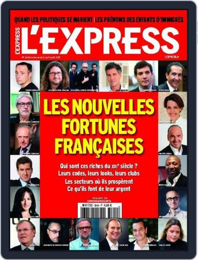 L'express (Digital) August 3rd, 2015 Issue Cover