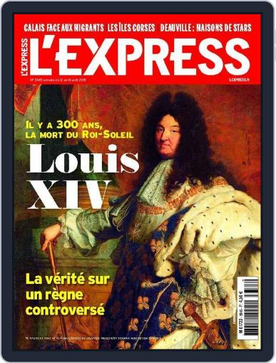 L'express August 10th, 2015 Digital Back Issue Cover