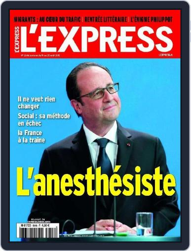 L'express (Digital) August 18th, 2015 Issue Cover