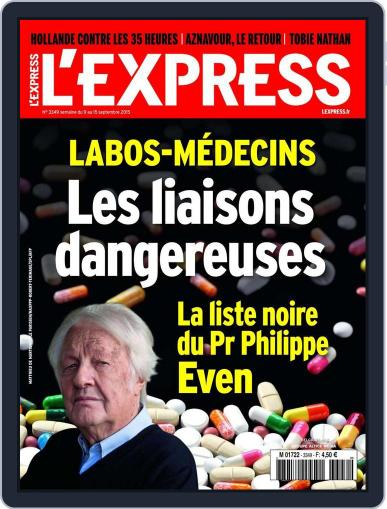 L'express (Digital) September 8th, 2015 Issue Cover