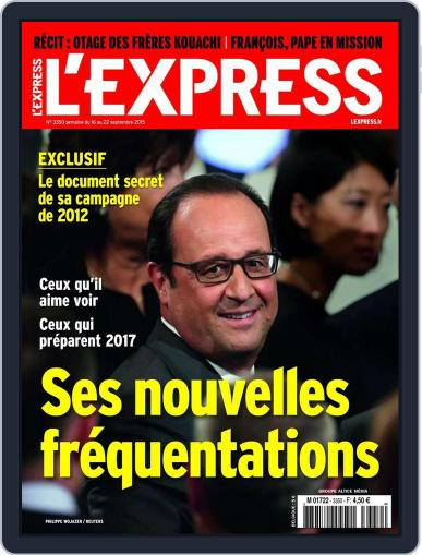 L'express September 15th, 2015 Digital Back Issue Cover