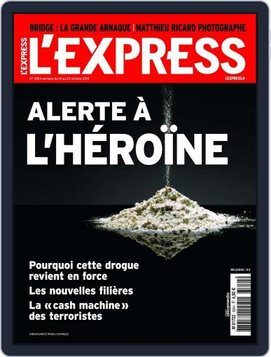 L'express (Digital) October 13th, 2015 Issue Cover