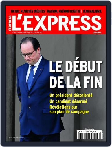 L'express October 28th, 2015 Digital Back Issue Cover