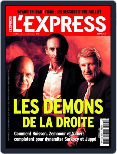 L'express (Digital) November 3rd, 2015 Issue Cover