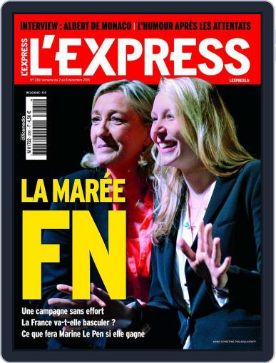 L'express (Digital) December 2nd, 2015 Issue Cover