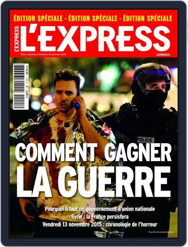 L'express (Digital) December 7th, 2015 Issue Cover