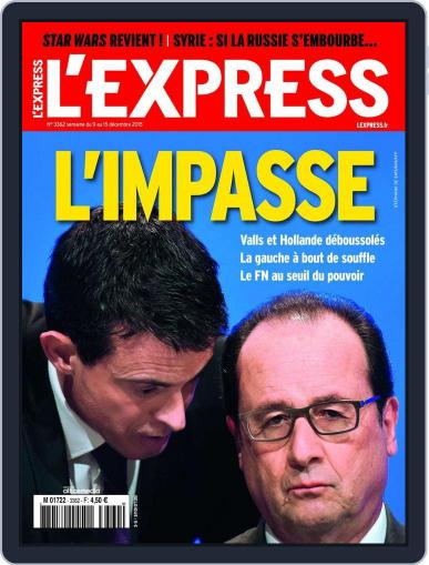 L'express (Digital) December 9th, 2015 Issue Cover