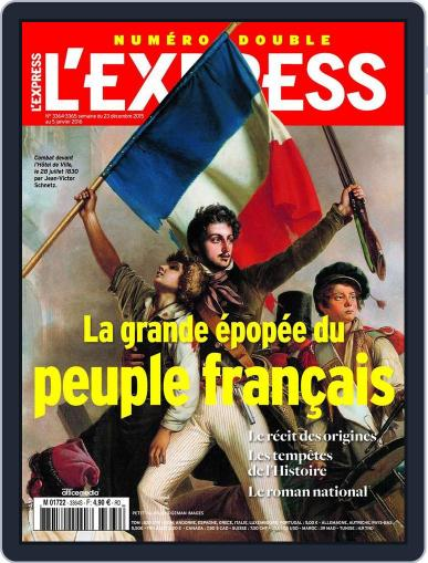 L'express (Digital) December 23rd, 2015 Issue Cover