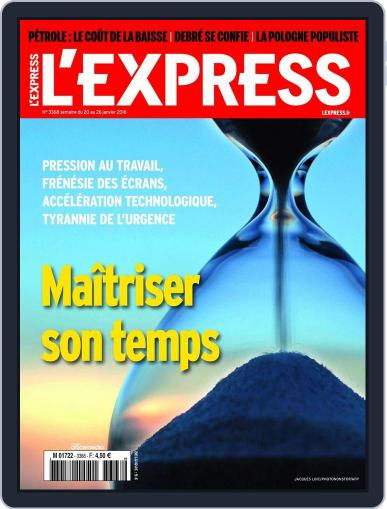 L'express (Digital) January 20th, 2016 Issue Cover