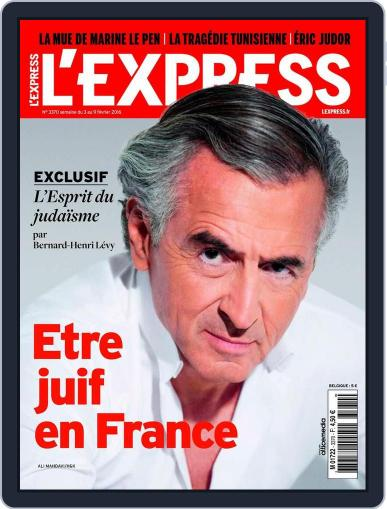 L'express (Digital) February 3rd, 2016 Issue Cover