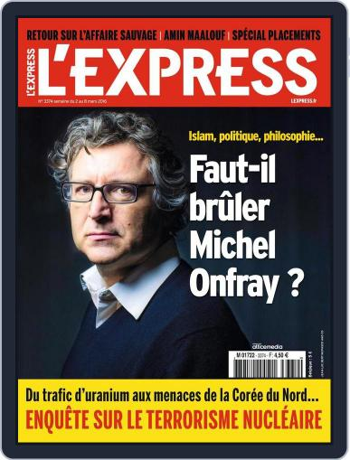 L'express (Digital) March 2nd, 2016 Issue Cover