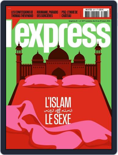 L'express (Digital) March 23rd, 2016 Issue Cover