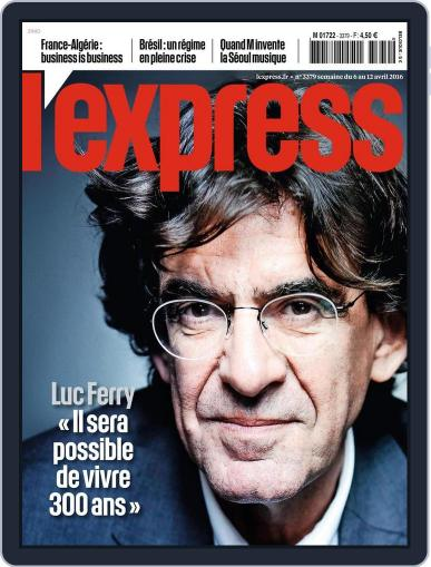 L'express (Digital) April 6th, 2016 Issue Cover