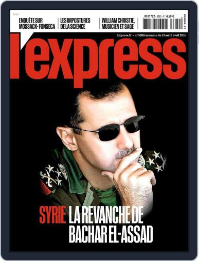 L'express (Digital) April 13th, 2016 Issue Cover