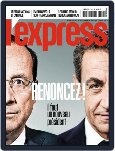 L'express (Digital) April 20th, 2016 Issue Cover