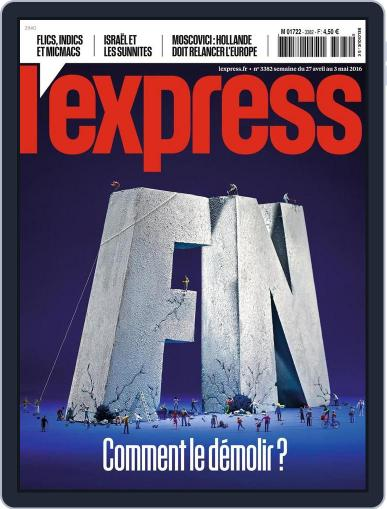 L'express (Digital) April 27th, 2016 Issue Cover