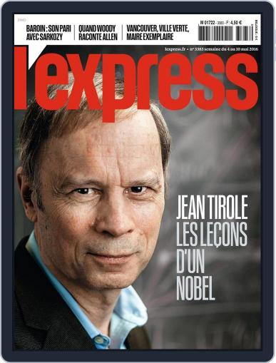 L'express (Digital) May 4th, 2016 Issue Cover