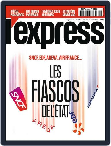 L'express May 25th, 2016 Digital Back Issue Cover