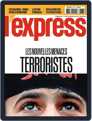 L'express (Digital) June 1st, 2016 Issue Cover