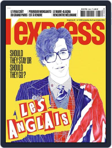 L'express (Digital) June 8th, 2016 Issue Cover