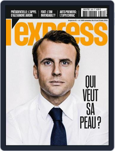 L'express June 15th, 2016 Digital Back Issue Cover